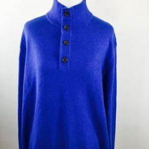 Banana Republic Cashmere blend men's sweater XL